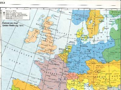 Karte Von Europa 1914.Europa Karte 1914 Ortsgeschichte Leogang